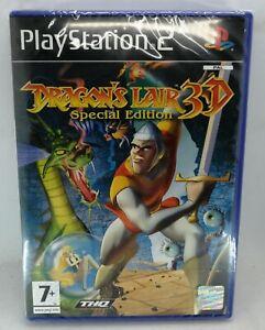 Drachen-Hoehle-3d-Videospiel-fuer-Sony-Playstation-2-ps2-PAL-Brandneu-amp-Versiegelt