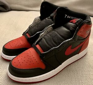cheap prices differently uk availability Details about Nike Air Jordan 1 High Retro OG BRED (New In Box) Kids Size 7