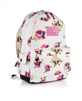 2e3fd16a5b82 New Womens Superdry Summer Blush Montana Rucksack  backpack shool bag   gym  bag