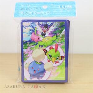 Pokemon-Center-Original-Kartenspiel-Armel-verloren-Maerz-64-Armel-HOPPIP-SKIPLOOM