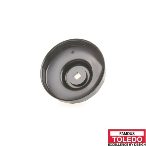 80and 82mm 15 Flutes 305063 TOLEDO Oil Filter Cup Wrench