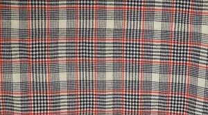RETRO-PLAID-Fabric-Acrylic-Wool-Blend-5-yd-58-034-wide-Multi-Colored