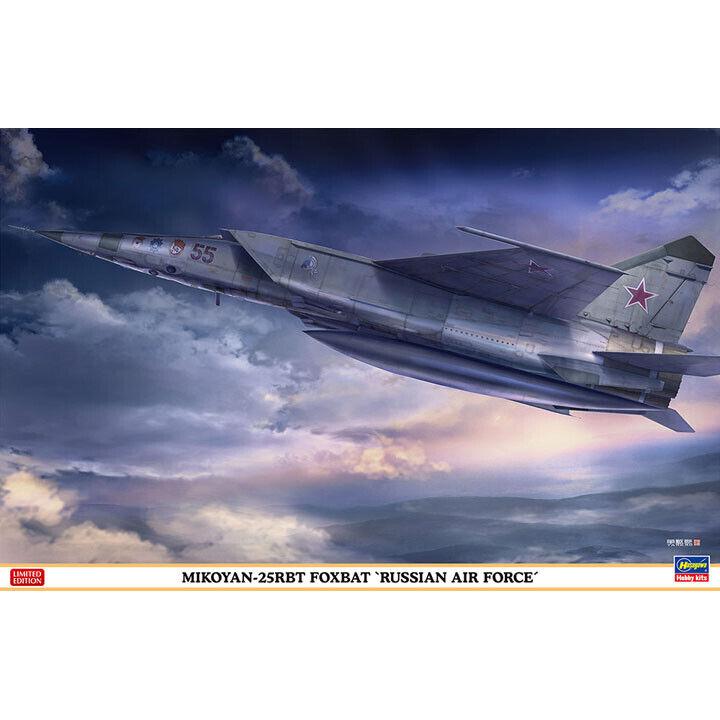 Hasegawa  07462 1 48 MiG-25RBT Foxbat Russian Air Force