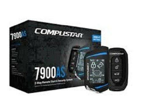 Replaced CS6900-AS Compustar CS7900-AS 2-Way 3000-Ft Remote Car Start /& Alarm