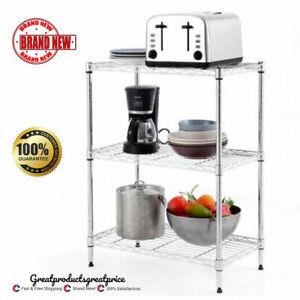 3-Tier-Wire-Shelving-Unit-Adjustable-Metal-Shelf-Rack-Kitchen-Storage-Organizer