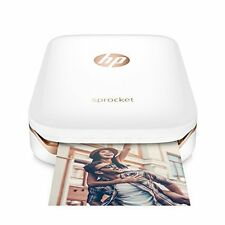 HP Sprocket Portable Smartphone Photo Printer WHITE Brand New