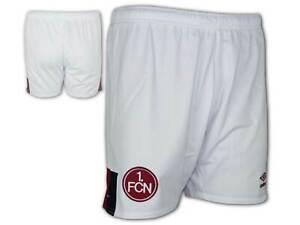 Umbro-1-FC-Nuernberg-Auswaerts-Short-Junior-weiss-FCN-Away-Kinder-Sporthose-134-158
