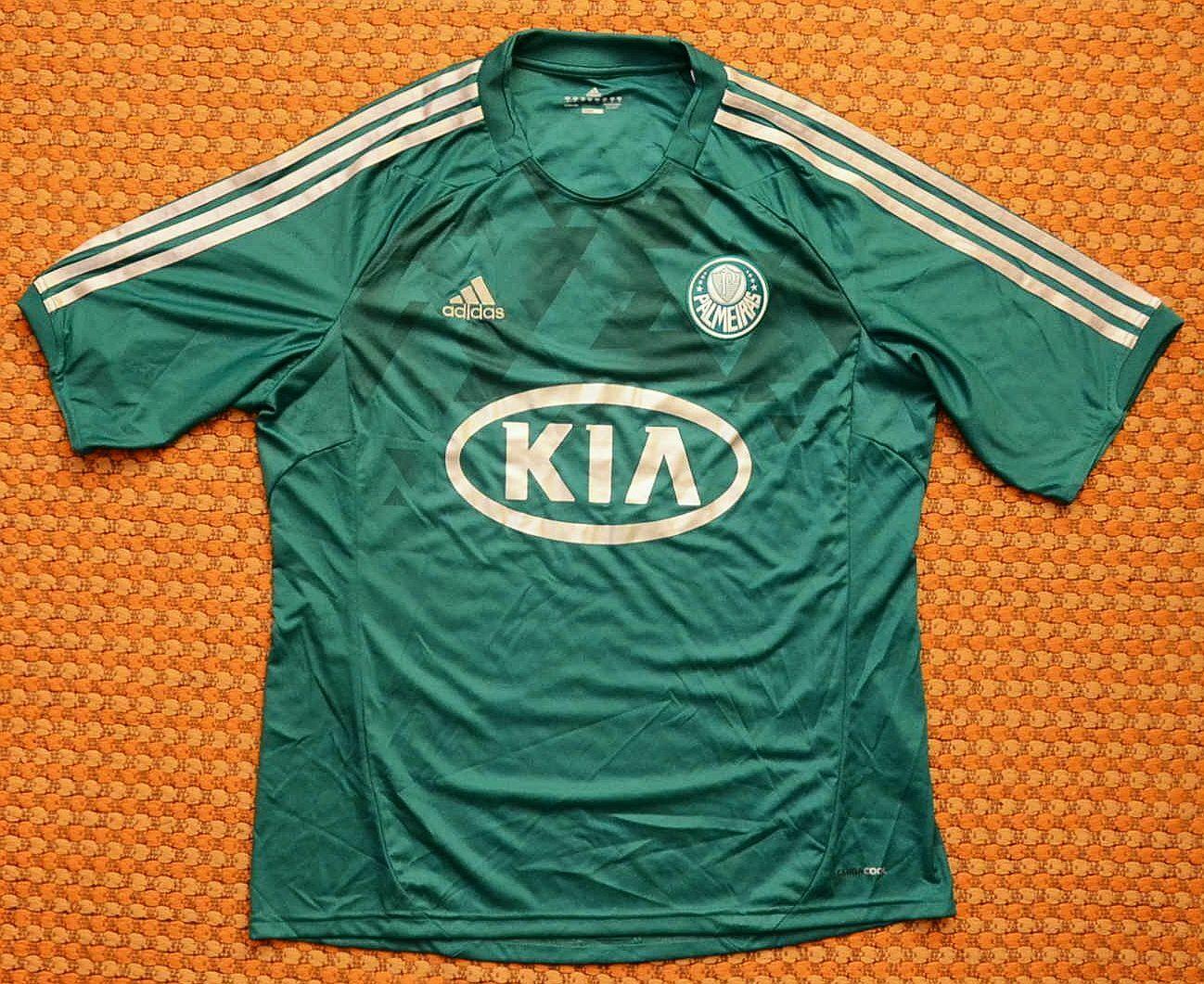 2012  - 2013 Palmeiras, Home Camisa Por Adidas, Para Hombre Xl, Brasil  mas barato