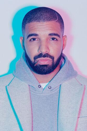 Z616 Drake Hotline Bling Hot Music 2018 Silk Poster 36x24 40x27