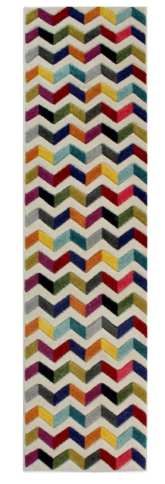 Modern Quality Quality Quality Handcarved Geometric Design Soft Rug Multi Colour Rainbow Carpet 6e8e3e