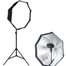 Brand NEW Photo studio strobe Flash light 80cm  Octagonal softbox umbrella