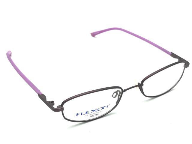 Flexon by Marchon 659 Women\'s Antique Purple Metal Eyeglasses Frames ...