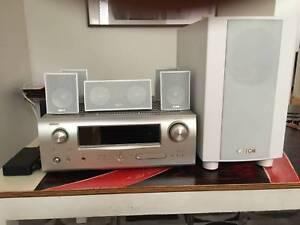 Denon-AVR-1610-5-1-Channel-Surround-Sound-with-speakers