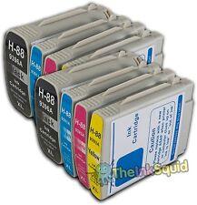 8 HP 88 HP88 Ink Cartridges for Officejet/Pro K8600dn