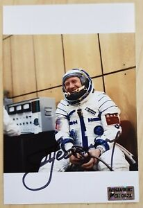 ASTP, Voskhod 2, Soyuz, Alexei Leonov original signed Photo, A. Leonow, Sojus 19