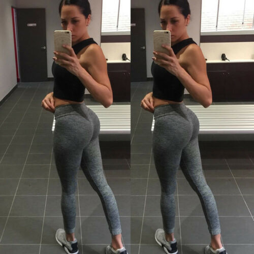 Women Casual Workout Legging Fitness Sport Gym Running Yoga Athletic Pencil Pant