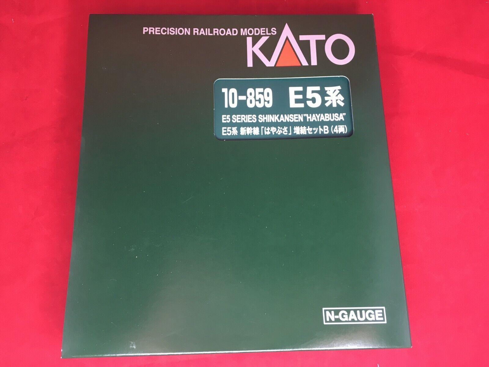 Kato N Gauge E 5 Serie Shinkansen Hayabusa 4-Coche Set 10-859 Tren Modelo