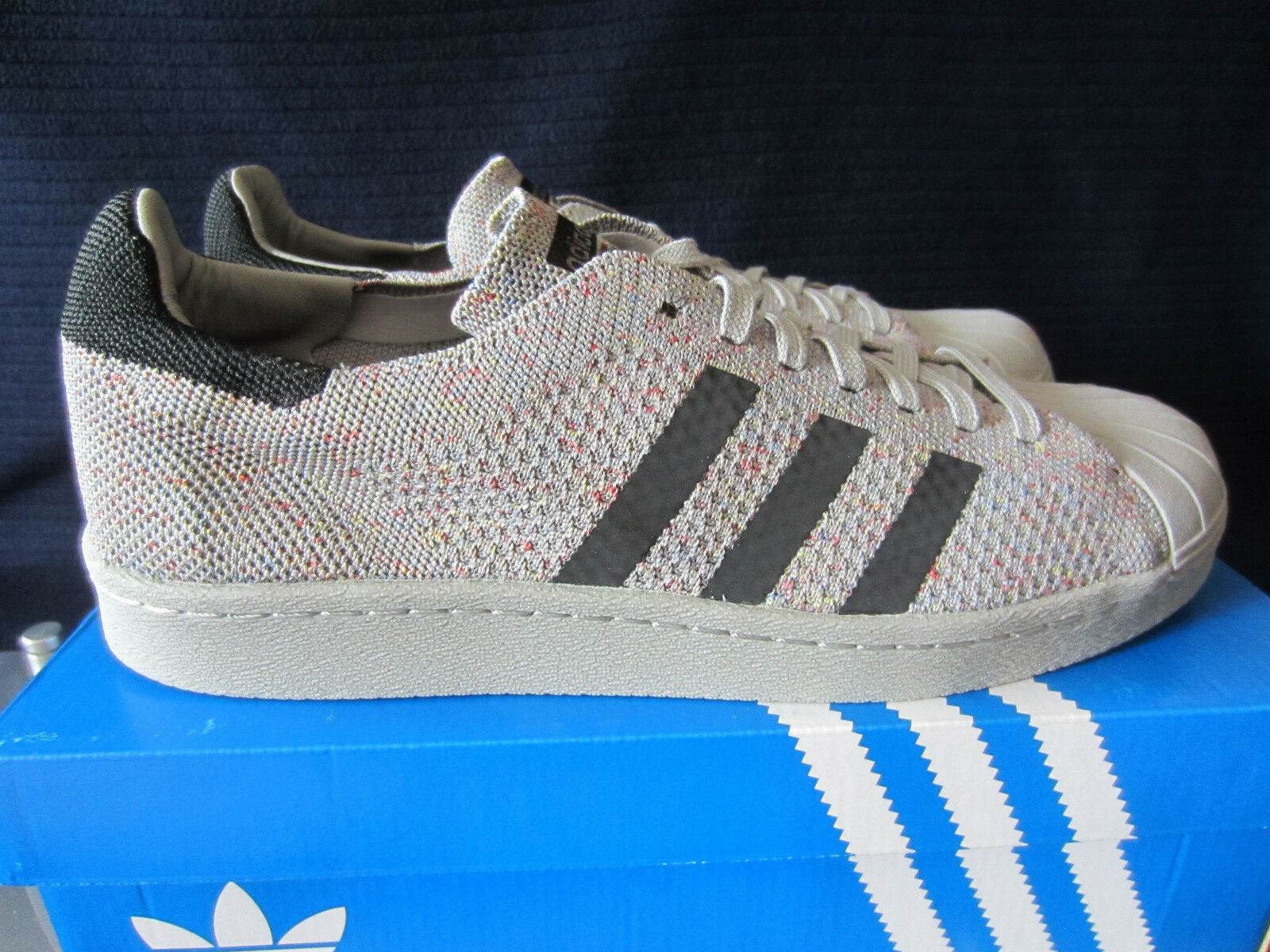 adidas ORIGINALS SUPERSTAR 80S PK S75843 Sneakers Grau Gr.44 44 2/3 46. NEU OVP! Seasonal clearance sale