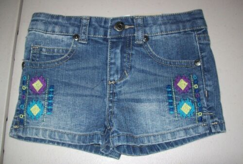 GIRLS TODDLER ARIZONA EMBROIDERED SHORTIES SURF MEDIUM SHORTS MULTIPLE SIZES NWT