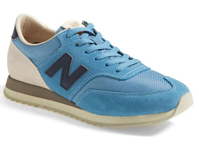 NEW BALANCE Womens 620 Classic Lace-up Running Sneaker Size 7/37.5 Ash Blue/Grey
