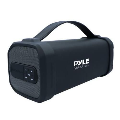 FM Radio Pyle Portable Bluetooth Wireless Speaker USB//SD Rechargeable Battery