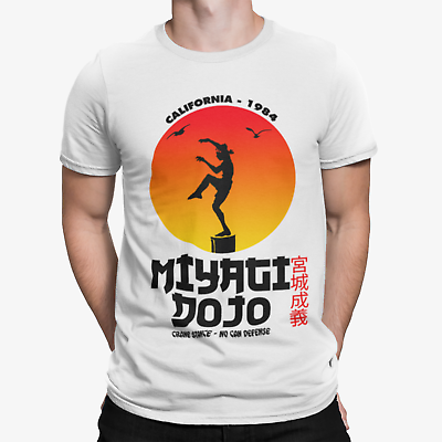 film dojo movie, Miagy Karate T-Shirt  Blackkarate kid kampfsport
