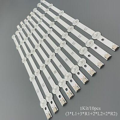 Color: 1 lot Calvas LED Backlight strip 10leds For LG 42 REV V13 TV 6916L-1385A 6916L-1386A 6916L-1387A 6916L-1388A 42ln5400 42ln5300