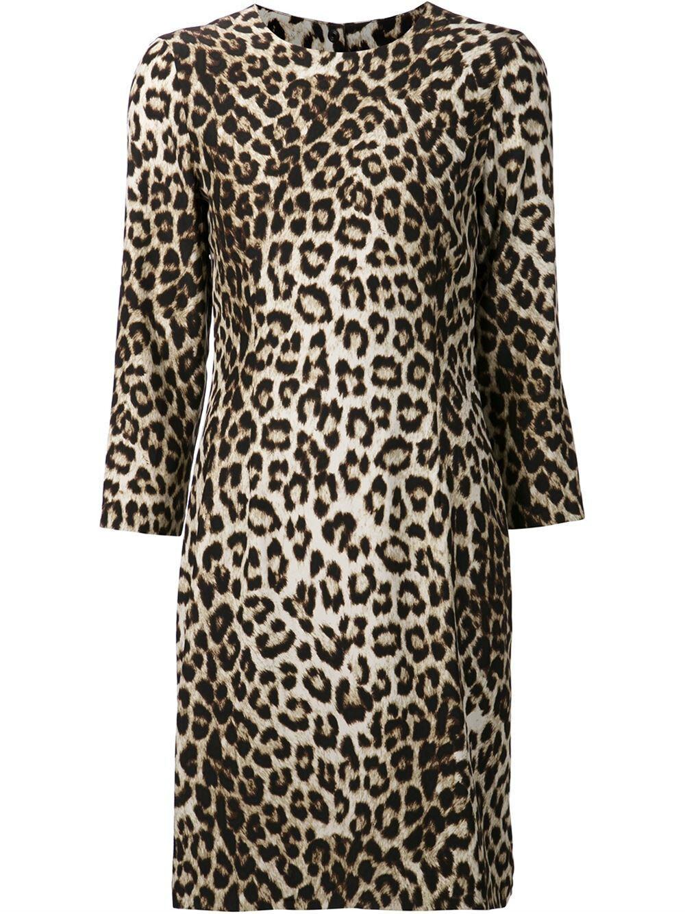Rag Rag Rag & Bone Short Silk Leopard Print Dress Size 4 (MSRP   595) b9e3a3