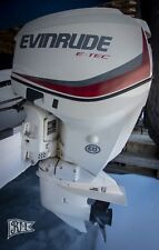 EVINRUDE E-tec 115hp Engine Like Only 25 Hrs  for sale online | eBay
