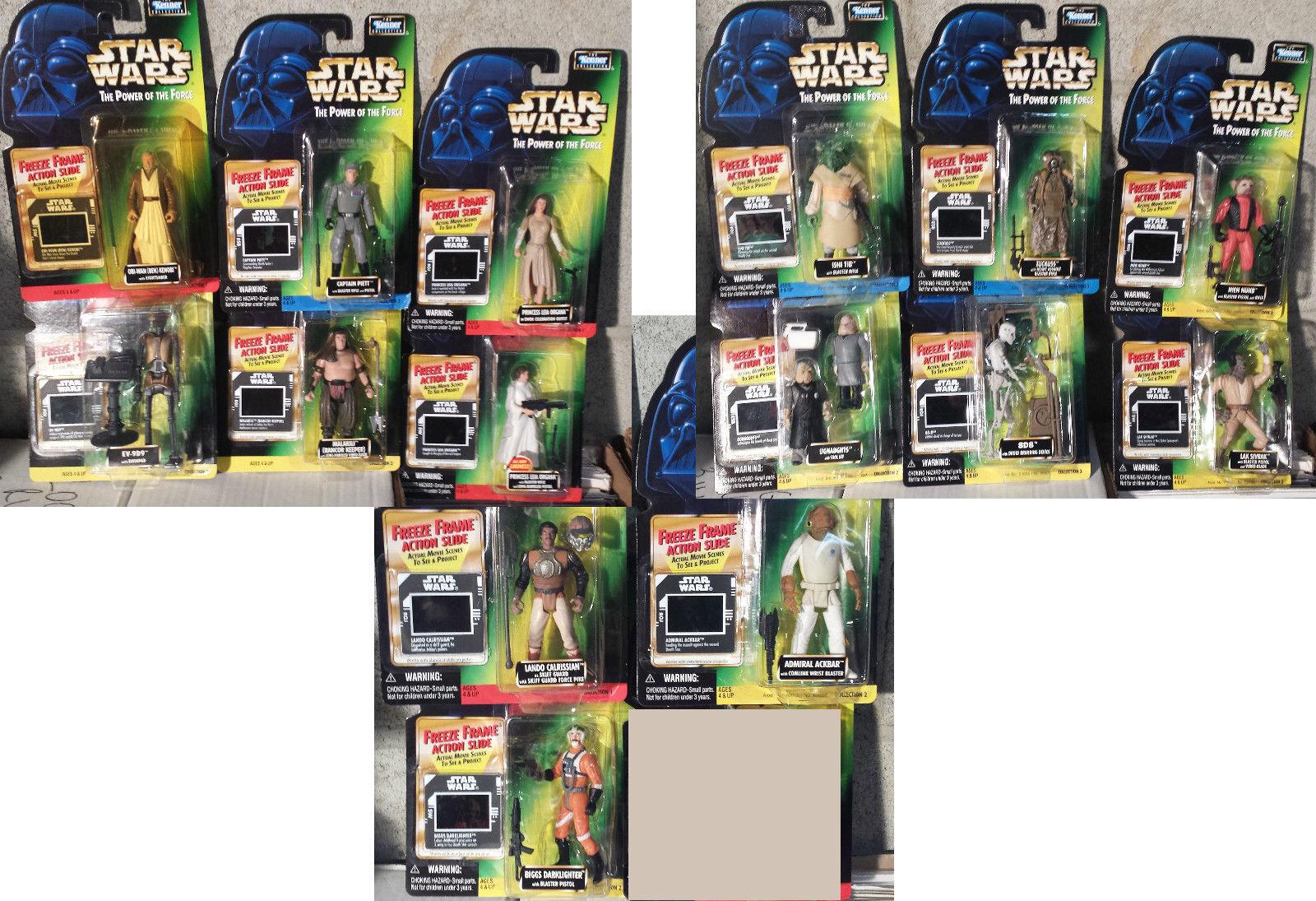 varios tamaños Estrella Wars  15  poder de la la la fuerza de figuras de acción Congelar fotograma  NUEVO sin abrir  8D8 Piett Leia  gran venta