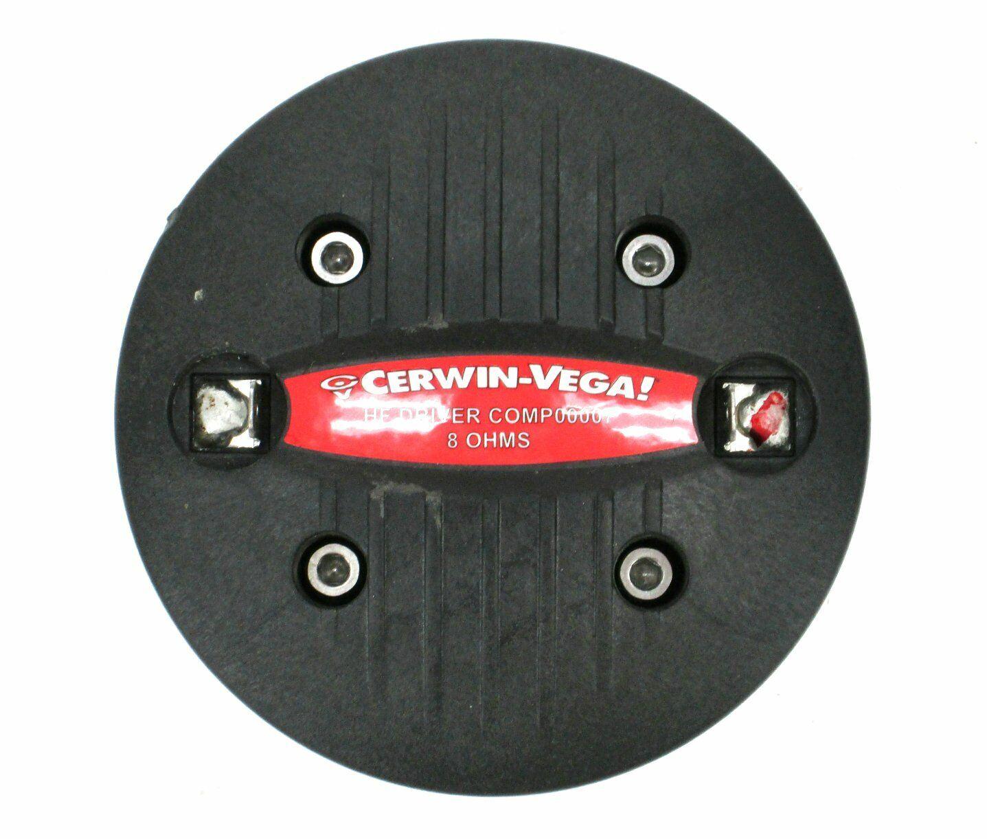 Cerwin Vega COMP00007 34MM 1  Exit Comp HF Driver for CVi-152 CVi-122M CVi-252