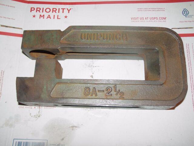 Unipunch C-Frame 8 inch throat 8A2-1//2