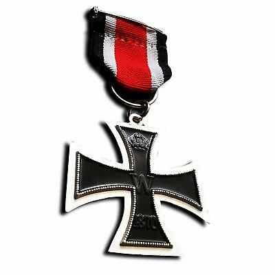 Orden Eisernes Kreuz 2.klasse 1870 Mit Band - Ek2 - Top Sammler Anfertigung Verkaufspreis