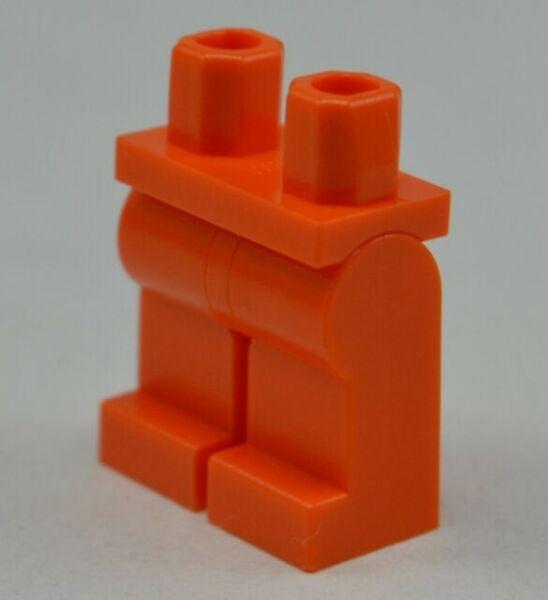 Lego 1x mini figure legs hips and legs bright luminous orange 970c00 new