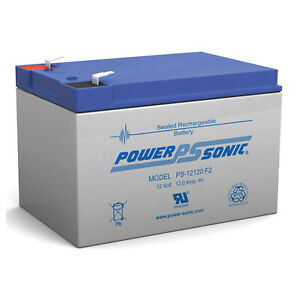 Power-Sonic-12V-12Ah-F2-SEALED-LEAD-ACID-AGM-DEEP-CYCLE-RECHARGEABLE-BATTERY