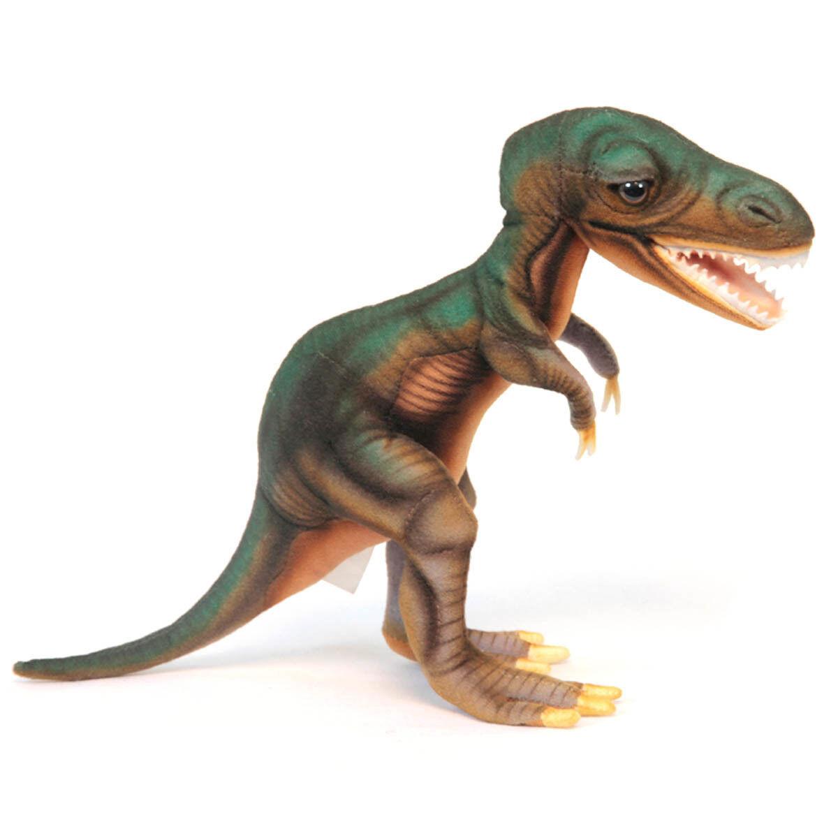 Tyrannosaurus Rex Dinosaur Hansa Realistic Animal Plush Toy 34cm FREE DELIVERY