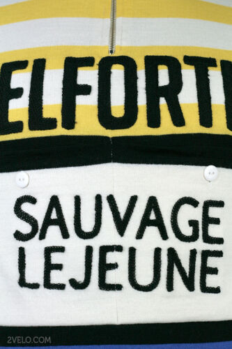 new PELFORTH Sauvage Lejeune vintage wool jersey never worn L