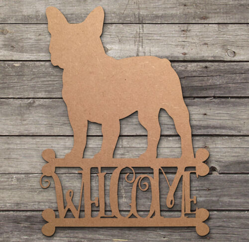 Wooden MDF Family Tree with Dogs Pets Craft Blank Laser Cut 12 Hearts