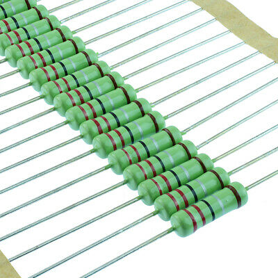 2.4 ohm 1//2 W resistore film di carbonio lotto di 10PCS
