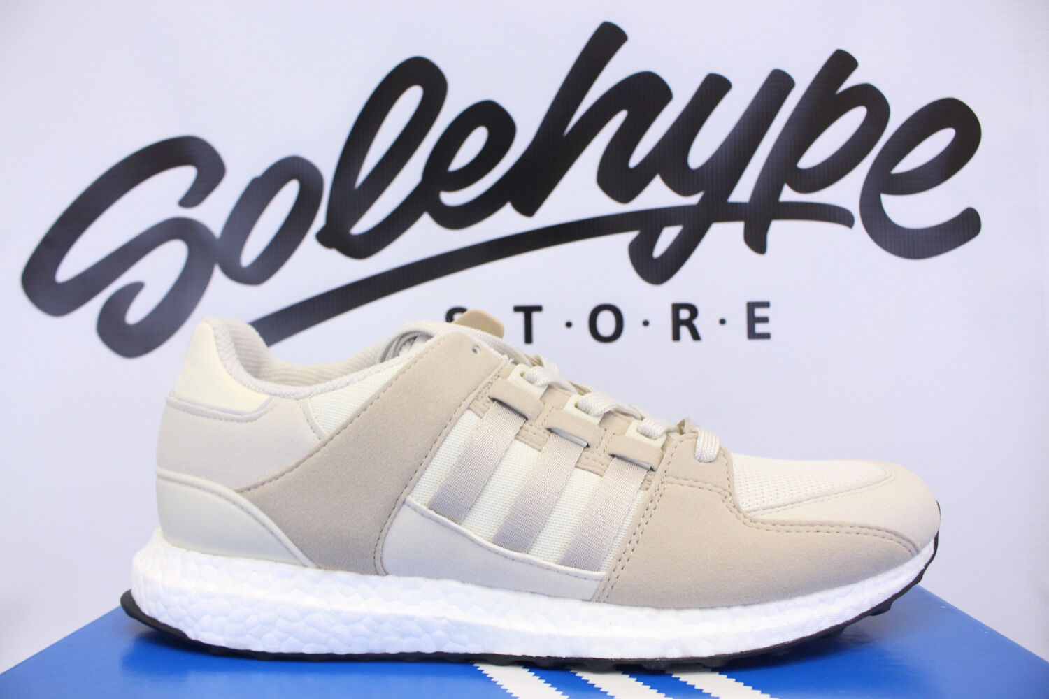 ADIDAS EQUIPMENT SUPPORT ULTRA BOOST EQT OFF WHITE BEIGE TAN BB1239 SZ 8.5