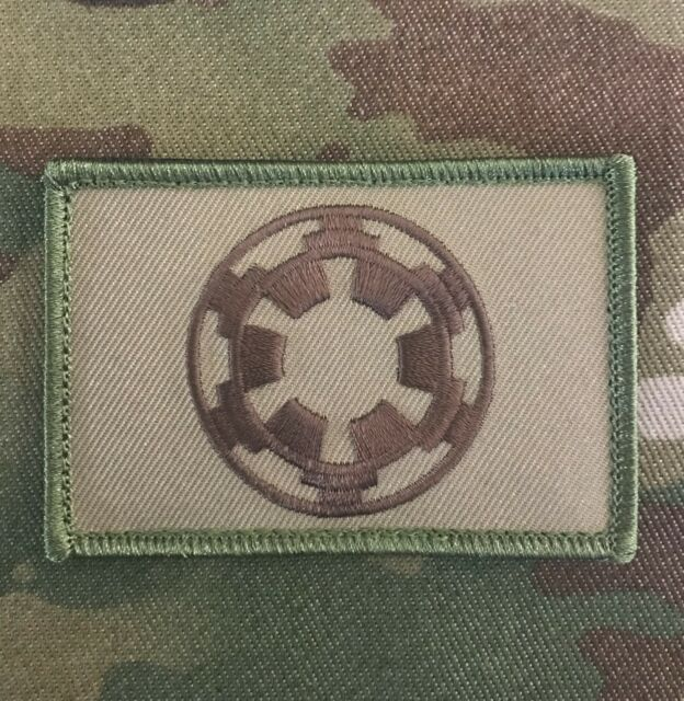 STAR WARS IMPERIAL GALACTIC EMPIRE TACTICAL MILITARY MORALE MULTICAM HOOK PATCH