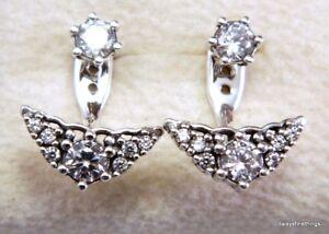 Image Is Loading New Tags Authentic Pandora Earrings Fairytale Tiara Studs