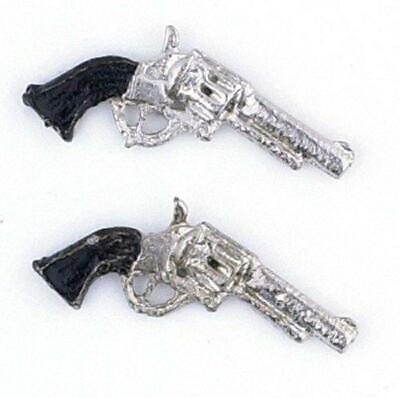 Dollhouse Miniature Gun Pistol Revolver 1:12 Gun LIGHTNING in a box