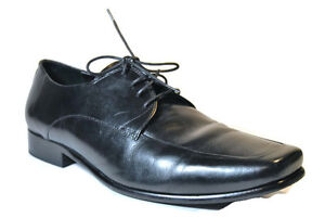 Kenneth-Cole-New-York-Enter-prise-Men-039-s-Black-Dress-Formal-Shoes-Size-12M