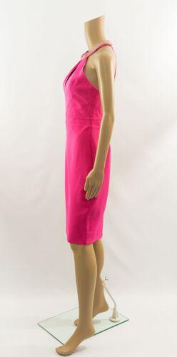 Lipsy VIP Embellished Halterneck Pink Bodycond Dress RRP £85