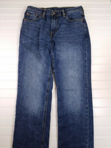 541 Men's Levi Strauss Blue Denim Jeans Size 30x30