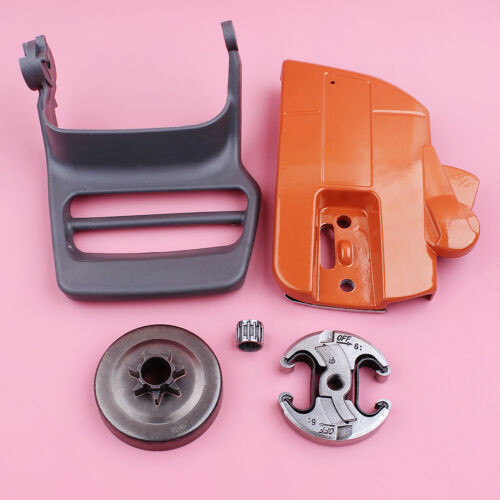 Chain Brake Clutch Cover Drum Hand Guard Assy For Husqvarna 340 345 350 Chainsaw
