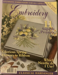 Embroidery-amp-Cross-Stitch-Magazine-Vol-9-No-7-11-Superb-Projects-spring-Flower