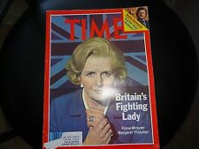 TIME Magazine May 14 1979 Britain's Prime Minister Margaret Thatcher
