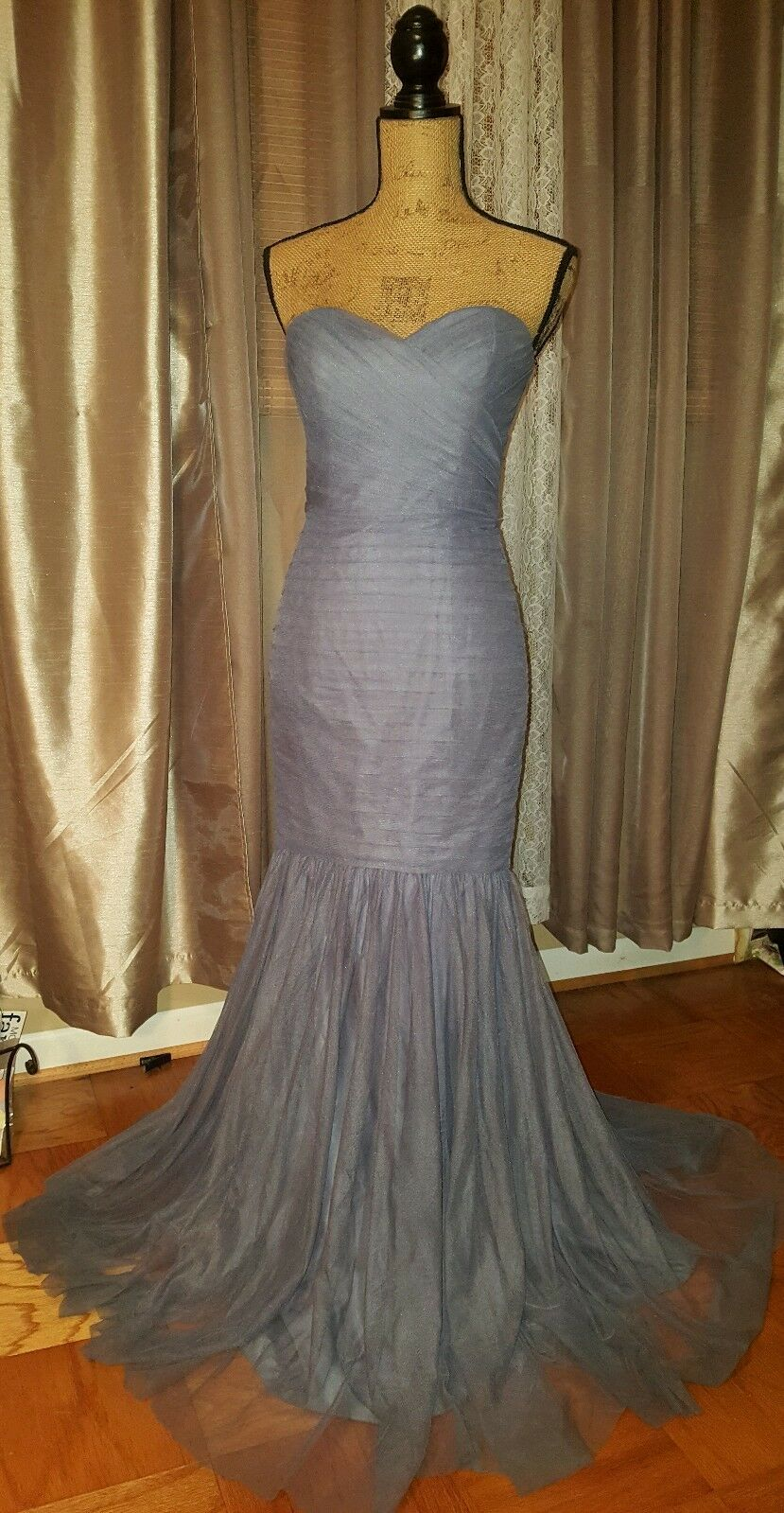 Amsale Evening Gown, Lavender, Size 4